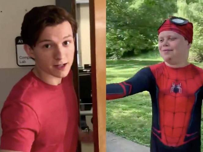 Actualmente, Holland se encuentra en Atlanta, preparado para comenzar el rodaje de Spider-Man 3. Foto: Captura de pantalla