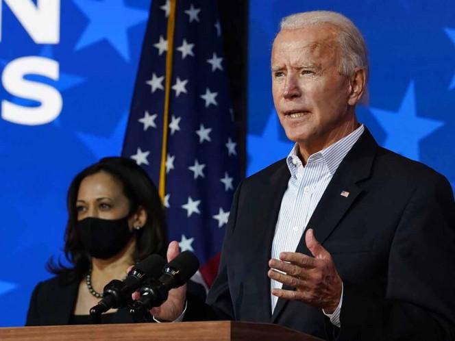 Biden comentó en una nueva conferencia que 'sin duda' ganará las elecciones de Estados Unidos.