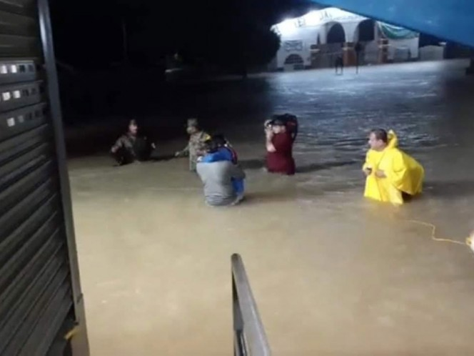 Amanace flooded San Cristóbal de las Casas, there is damage in other municipalities