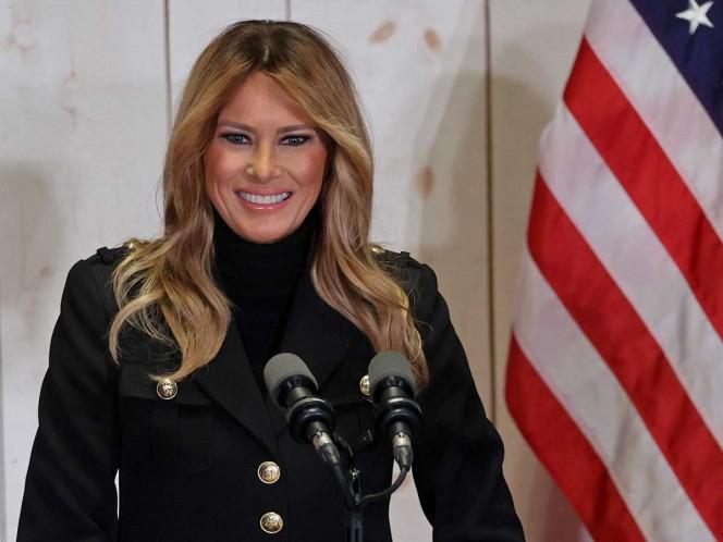 Melania Trump reclama elecciones 'justas'