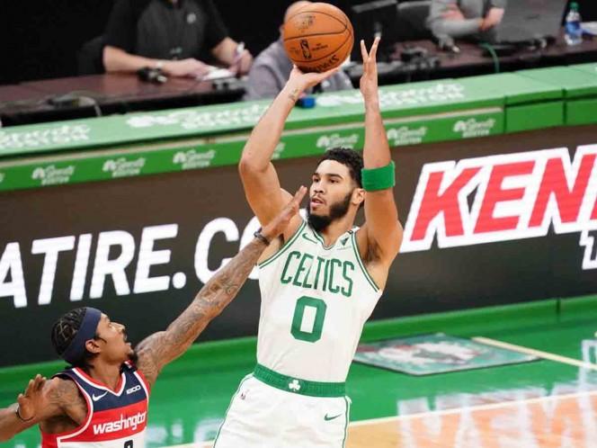 Jayson Tatum, la figura de los Celtics, será uno de los ausentes. (Reuters)