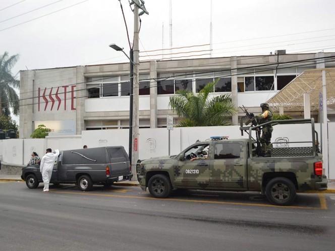 """El ISSSTE confirmó el robo de cuatro vacunas contra covid-19 en las instalaciones de la clínica de medicina familiar no. 1 """"Cuernavaca"""", ubicada en la colonia Tlaltenango, en Morelos."""
