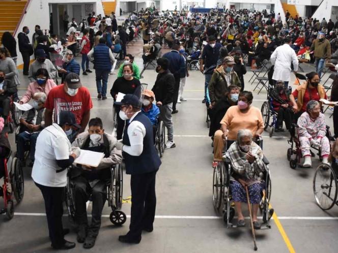 Por alta demanda, Ecatepec extiende vacunación tres semanas más