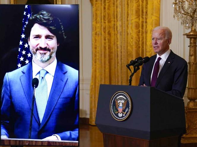 'EU no tiene ningún amigo tan cercano como Canadá': Biden