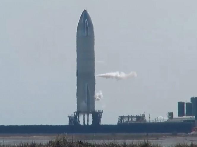 SpaceX y la NASA realizan prueba de lanzamiento del 'Starship SN10'
