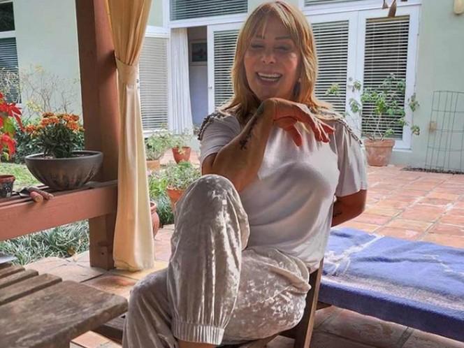Confirman que Alejandra Guzmán dio positivo a prueba de covid. Foto: IG laguzmanmx