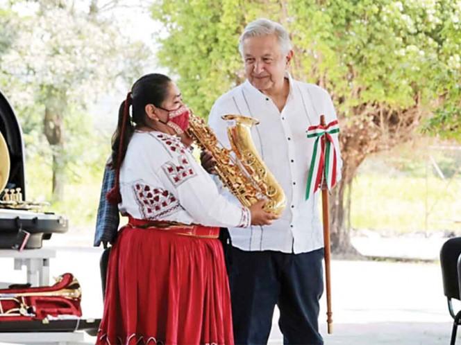 Los instrumentos musicales fueron adquiridos con recursos de subastas / Foto: Especial