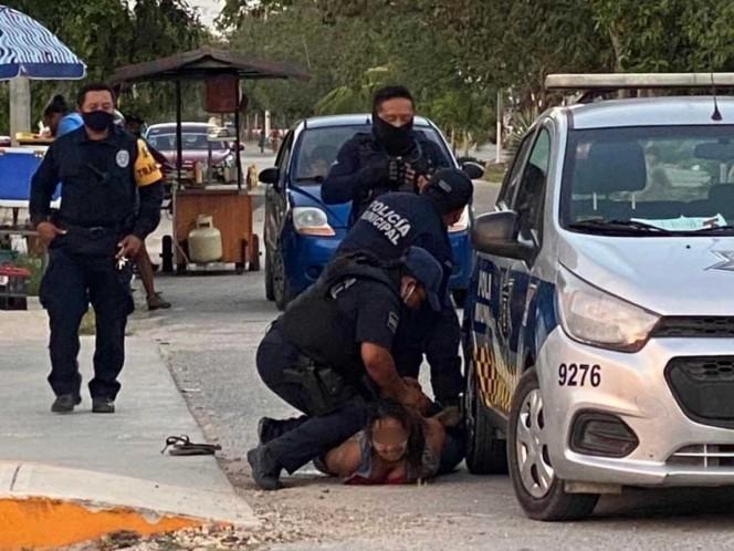 Indagan a policías de Tulum por muerte de mujer al someterla