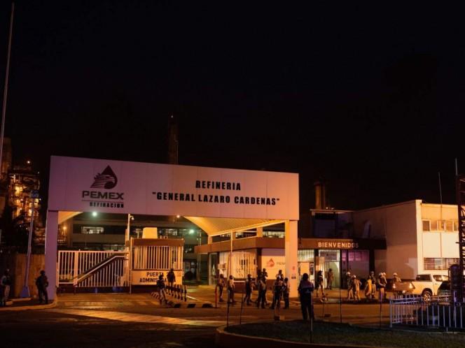 Incendio en refinería de Minatitlán deja 7 personas heridas