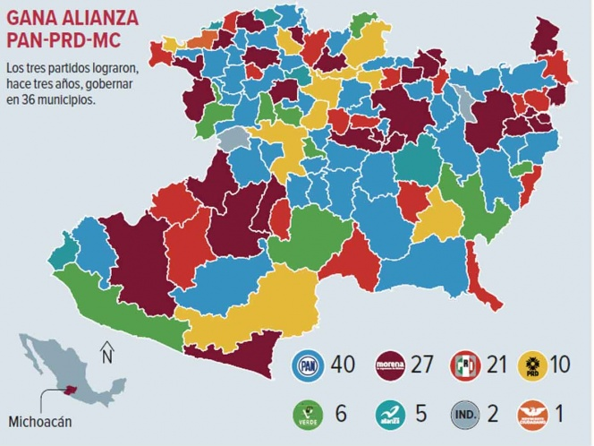 Seguridad y economía, principales retos en Michoacán. Noticias en tiempo real