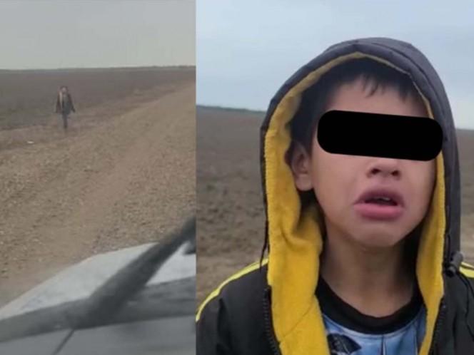 Aparece mamá de niño abandonado en frontera; estaba secuestrada en México