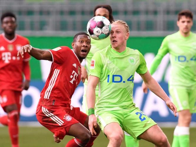 Bayern Múnich reacciona ante el Wolfsburgo. Noticias en tiempo real