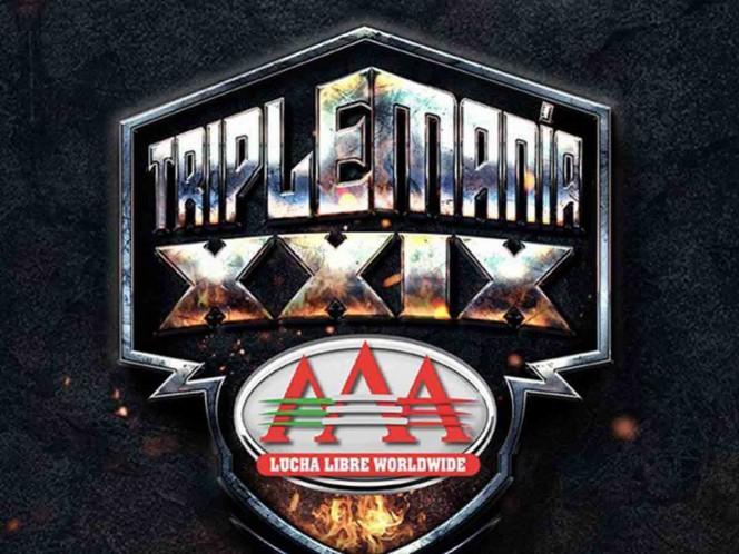 Revelan tres luchas estelares para Triplemanía XXIX