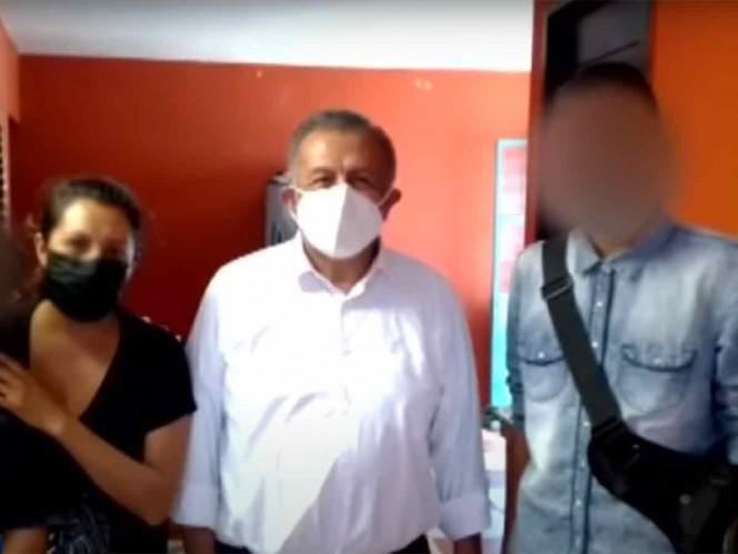 Exigen protección para familia de menor que acusa de abuso a Saúl Huerta