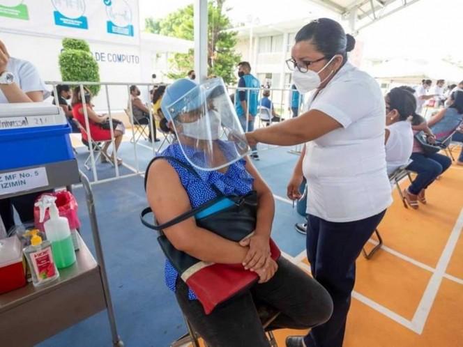 Con vacuna a maestros en Yucatán, en agosto regreso a clases voluntario