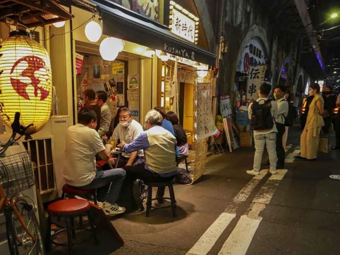 Así la vida nocturna en Tokio pese al covid