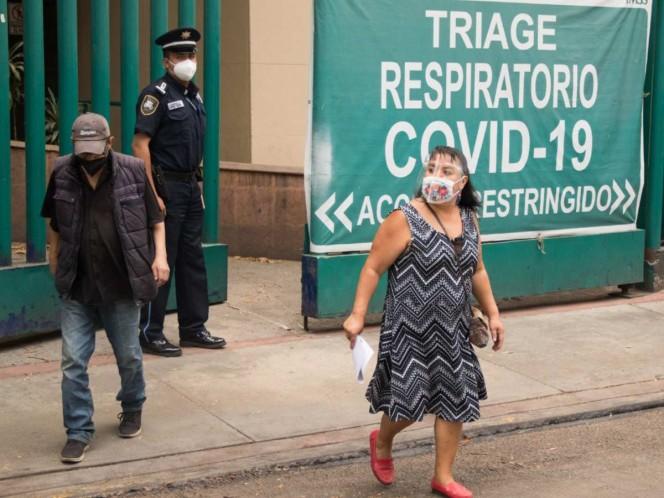 Habilitan nuevamente hospitales en CDMX ante tercera 'ola' de covid
