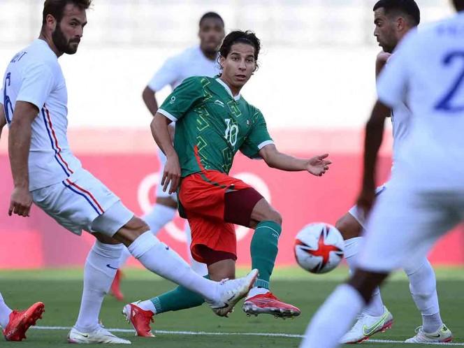 Diego Lainez acepta que el Tri Olímpico ya no tiene margen de error