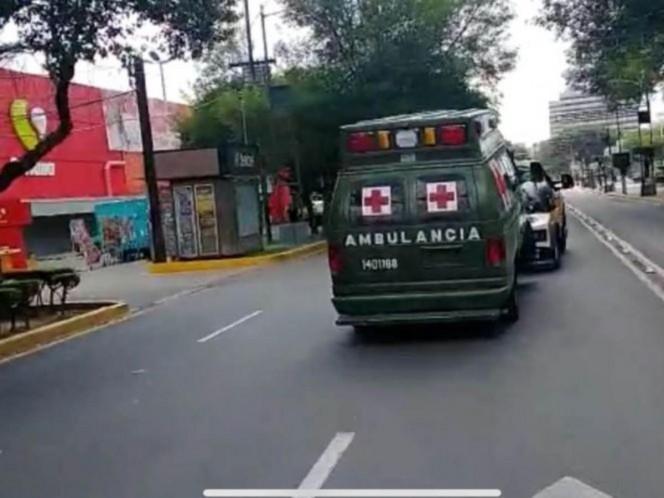 Vinculan a proceso a chofer de ambulancia militar que mató a motociclista