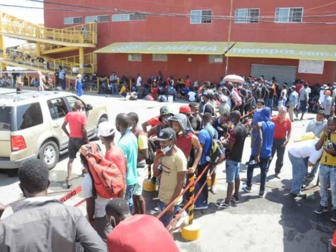 Haitianos llegan a Nuevo León; escapan de autoridades migratorias. Noticias en tiempo real