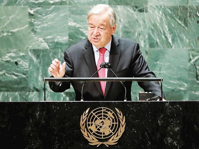 Guterres alerta por polarización global. Noticias en tiempo real
