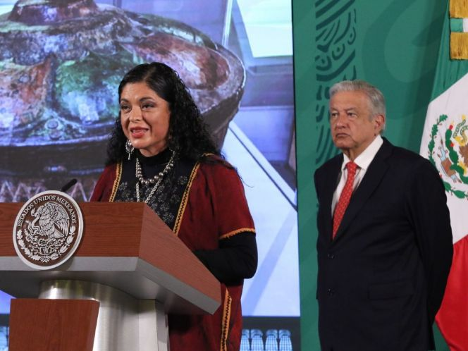 Durante la mañanera, el presidente López Obrador dio a conocer el programa de festejos por Bicentenario de la Independencia. (Cuartoscuro)