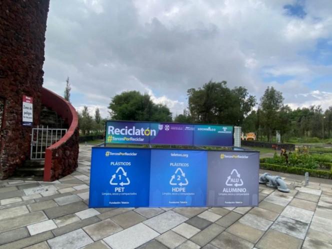 ¿Cómo participar en el \'Reciclatón\' de Chapultepec y Xochimilco? . Noticias en tiempo real