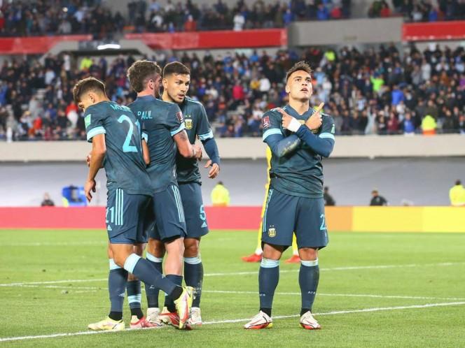 Lautaro Martínez le da la victoria a Argentina sobre Perú. Noticias en tiempo real