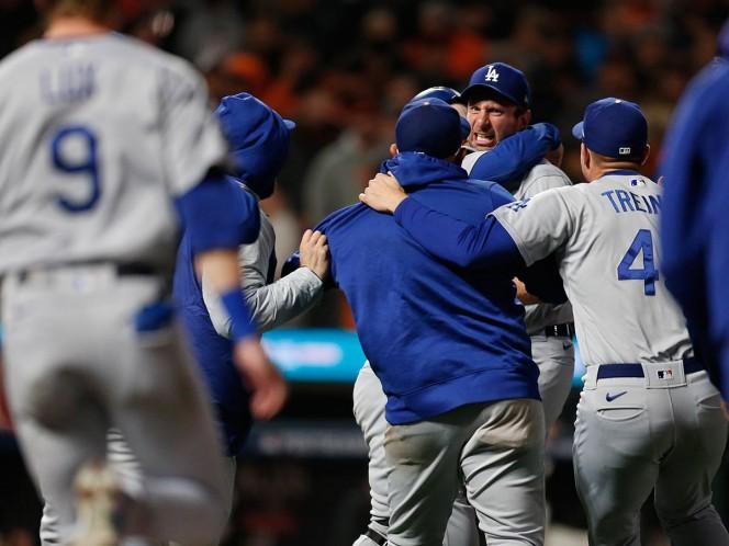 Dodgers defenderán el gallardete de la Liga Nacional. Noticias en tiempo real