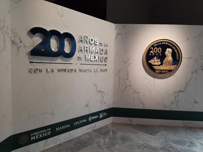 Armada de México celebra 200 años con exposición en el Castillo de Chapultepec