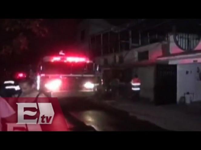 Incendio en la delegación Xochimilco consume herrería
