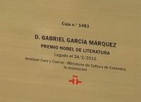 Legado de García Márquez en Caja de las Letras de Instituto Cervantes