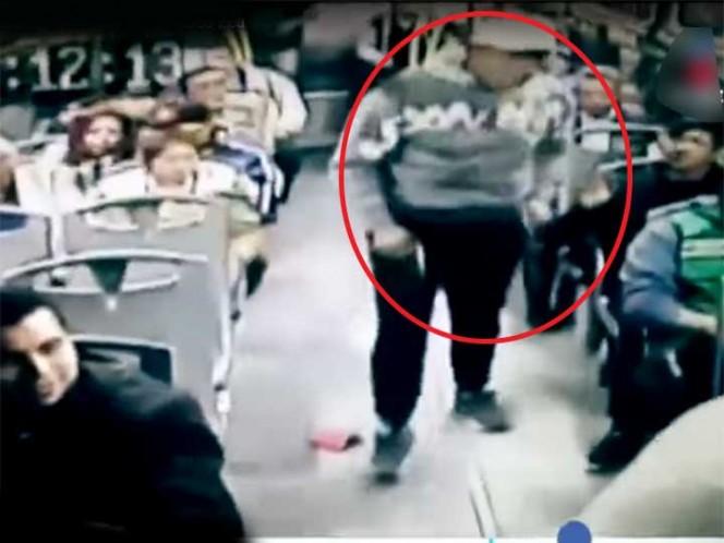 Video: Así operan los ladrones en camiones de Azcapotzalco