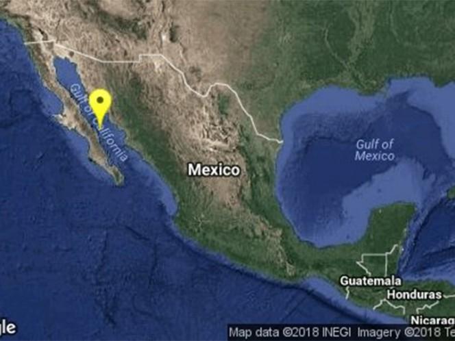 Se registra sismo de 5.9 grados en Baja California Sur