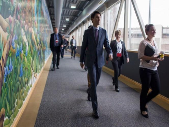 Trudeau viajará a EU para intensificar su apoyo al TLCAN