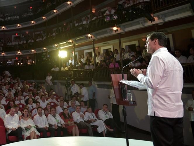 Peña Nieto inaugura Tianguis Turístico 2018 en Sinaloa