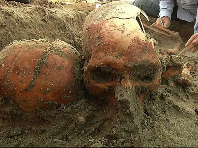 Descubre IPN entre la arena restos humanos del año 1,100 d.C.
