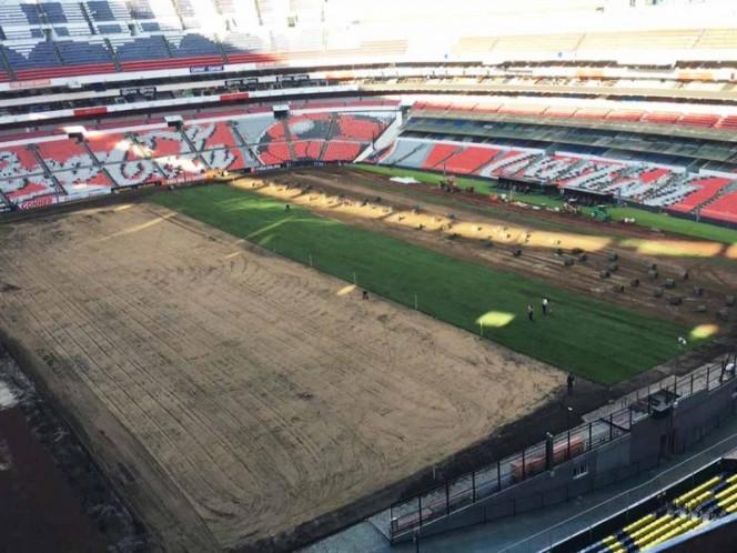 Cruz Azul and América against the Azteca grass