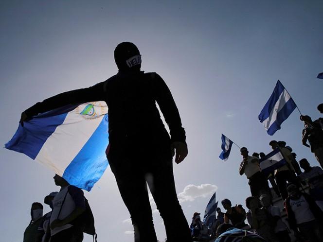 Miles marchan en Managua para exigir la liberación de presos políticos
