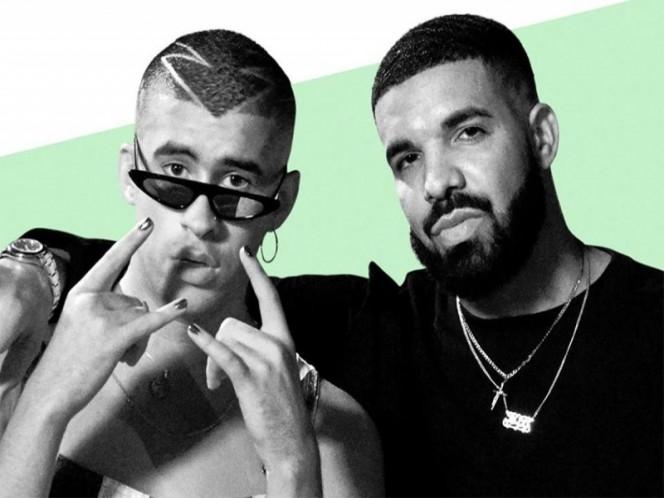 Drake se sube al tren del reguetón junto a Bad Bunny