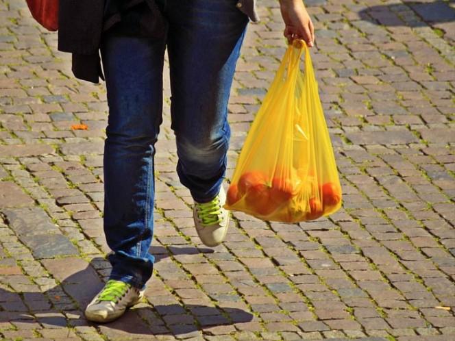 Rechazan sancionar a comercios que dan bolsas de plástico