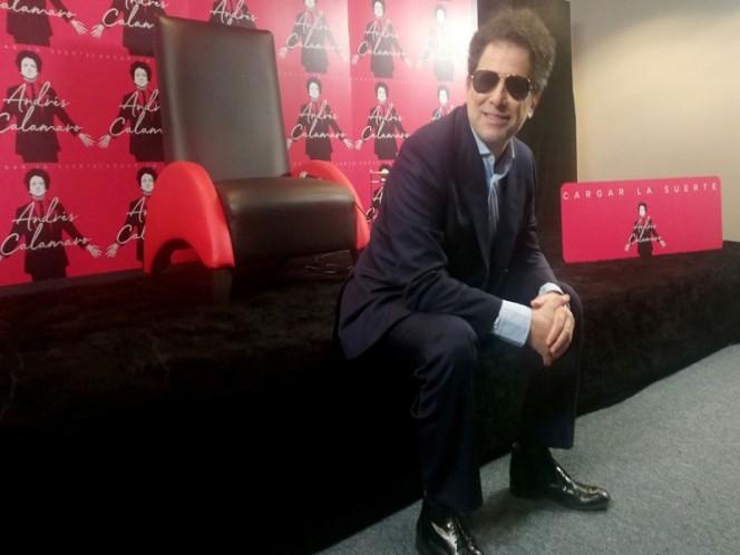 Andrés Calamaro presenta su nuevo disco 'Cargar la suerte'