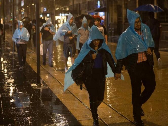 Por 'Sergio' y frente frío continuarán lluvias en el país