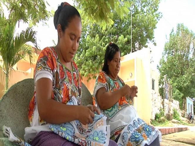 Mujeres mayas piden apoyos sociales y ser reconocidas