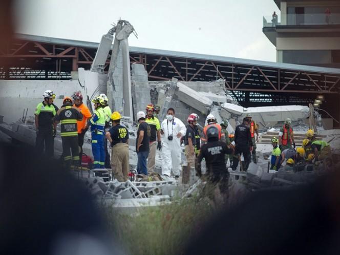 Alistan detención de propietarios de obra que se derrumbó en Monterrey