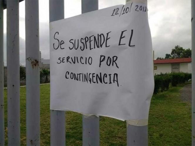 Contaminación por toma clandestina provoca suspensión de clases, en Hidalgo