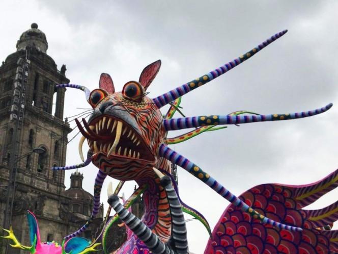 Inicia el Desfile de Alebrijes Monumentales