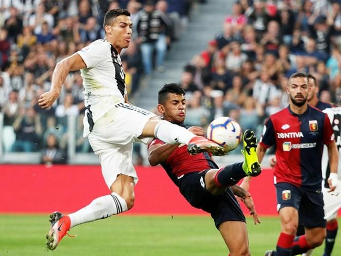 Cristiano sigue marcando goles con la Juventus