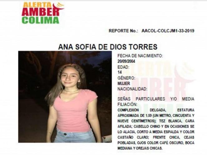 Alerta Amber: ayuda a Ana Sofia a volver a casa