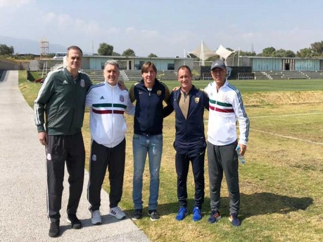 'Tata' Martino ahora visita a los Pumas